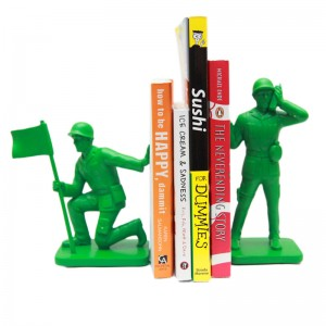 Army Men Bookends