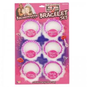 Bachelorette Bead Bracelet Set