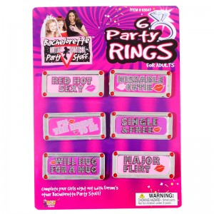 Bachelorette Bling Rings