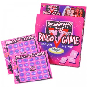 Bachelorette Party Bingo