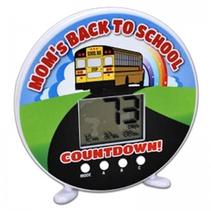 Back to School Countdown Clock