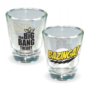 Bazinga Shot Glass