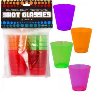 Blacklight Reactive Shot Glasses