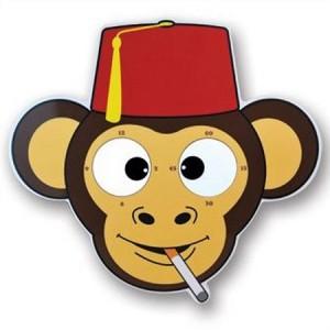 Cheeky Monkey Rolling Eyes Clock