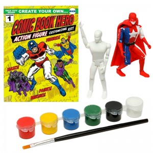 Create Your Own Comic Book Hero Kit