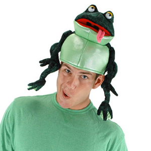 Croaker the Frog Hat