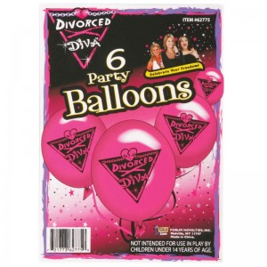 Divorce Diva Balloons