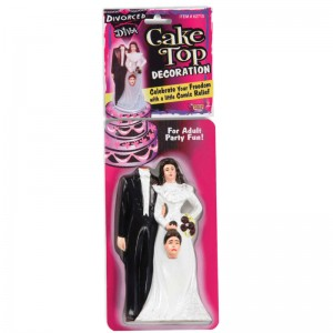 Divorce Diva Cake Topper