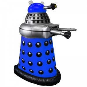 "Doctor Who: 30"" Inflatable Blue Dalek"