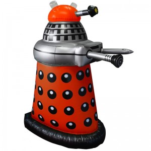 "Doctor Who: 30"" Inflatable Red Dalek"