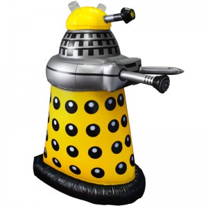 "Doctor Who: 30"" Inflatable Yellow Dalek"