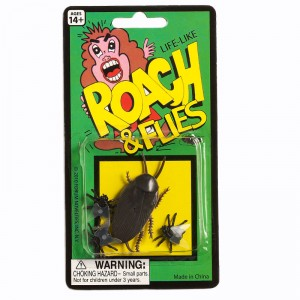 Fake Roach and Flies