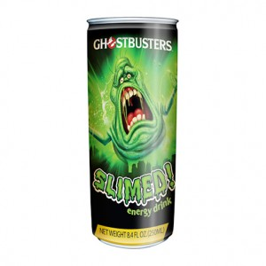 Ghostbusters Energy Drink: Slimed!