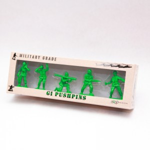 GI Army Men Push Pins