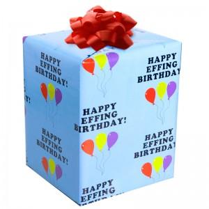 Happy Effing Bithday Gift Wrap