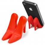 High Heel Pumped Up Phone Stand-Red