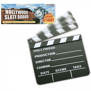 Hollywood Film Slate Board