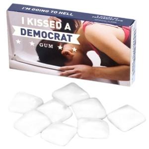 I Kissed a Democrat Gum