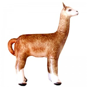 "Inflatable Alpaca (34"" tall)"