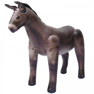 "Inflatable Donkey (33"" tall )"