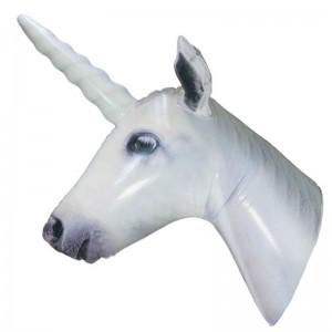 Inflatable Unicorn Head