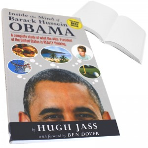 Inside the Mind of Obama Prank Book