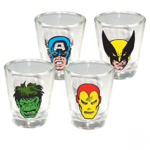 Marvel Comics Shot Glasses