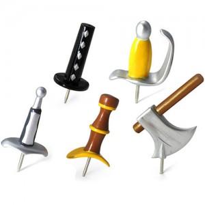 Medieval Push Pins