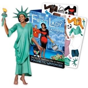 Michelle Obama Magnetic Dress Up Kit