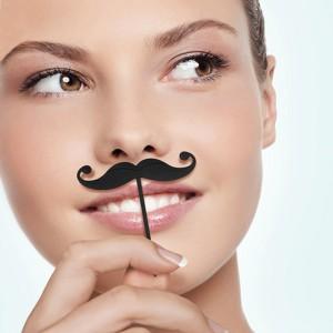 Mini Mustache Party Picks