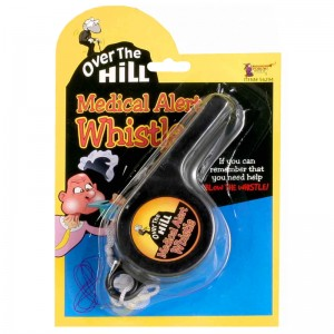 Over the Hill, Medical Alert Whistle