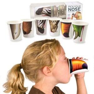Party Animal Nose Cups