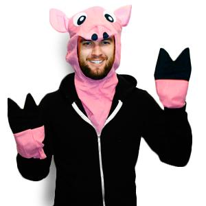 Plush Pig Costume Kit