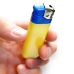 Prank Foaming Lighter