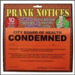 Prank Notices 10 PK