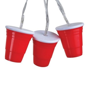 Red Cup String Party Lights