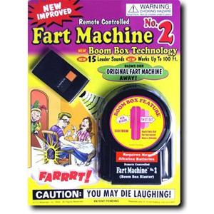 Remote Control Fart Blaster