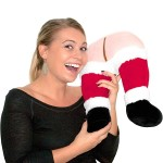 Santa's Farting Butt Neck Pillow