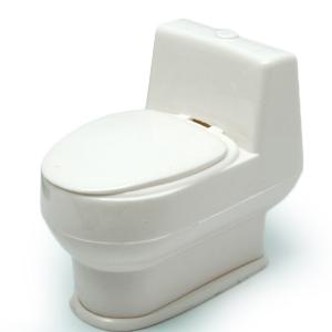 Secret Squirting Toilet