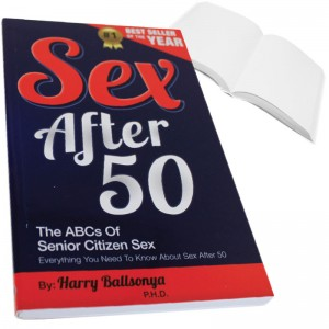 Sex After 50 Prank Book