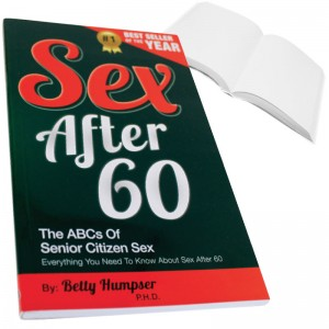 Sex After 60 Prank Book