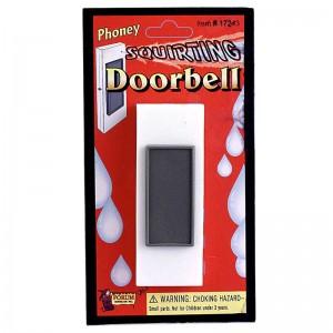 Squirt Doorbell Prank