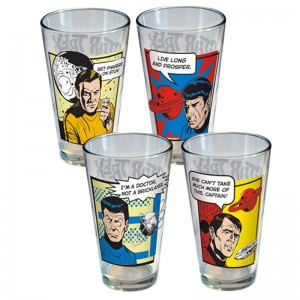 Star Trek Glass Set