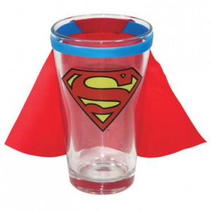 Superman Caped Pint