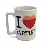 Talking Mug I Love Farting