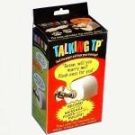 Talking Toilet Paper Dispenser