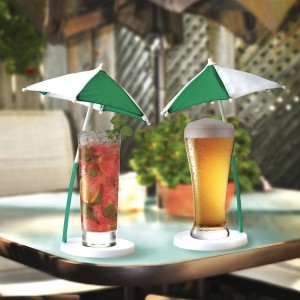 The Cocktail Umbrella and Coaster Set 2 PK