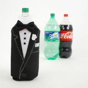 Tuxedo Bottle Covers