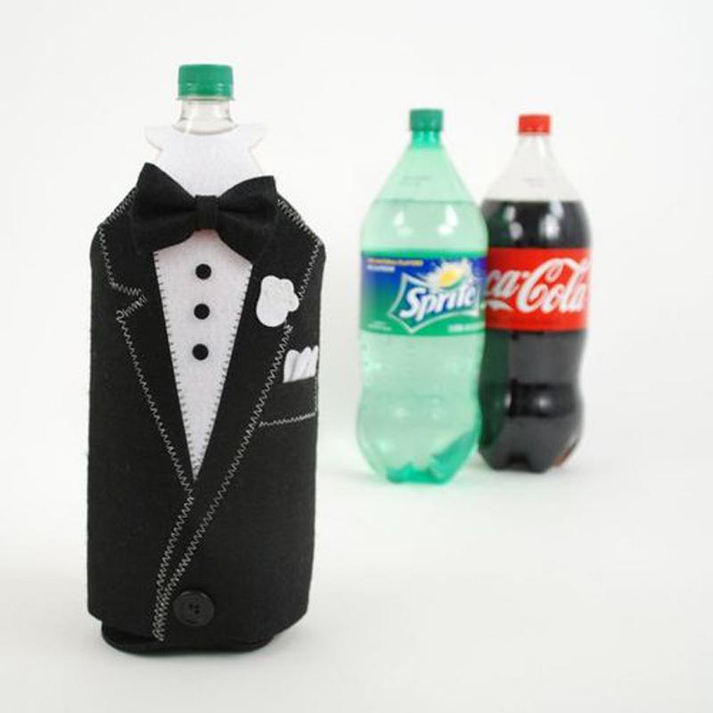 Tuxedo Bottle Covers The Prank Store