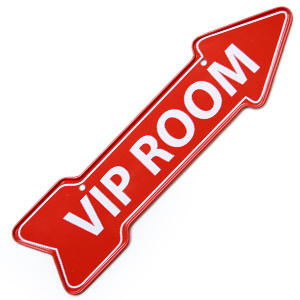 VIP Room Magnet